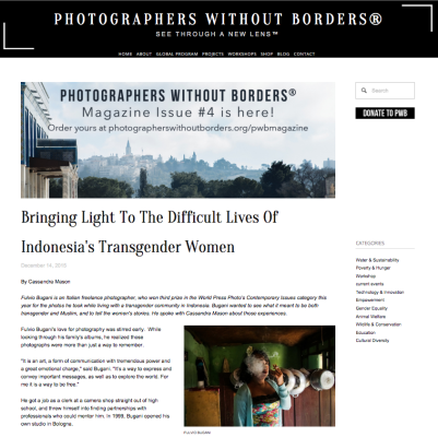 Bugani photographers without borders
