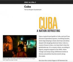 Zeke Magazine Cuba Photo Bugani Fulvio